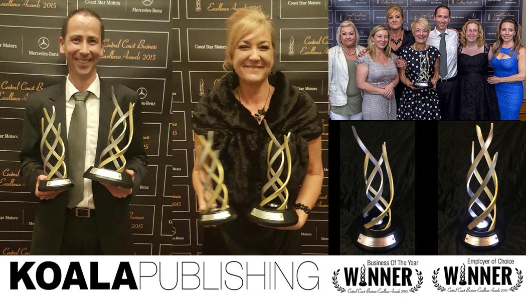 Koala Publishing receives awards